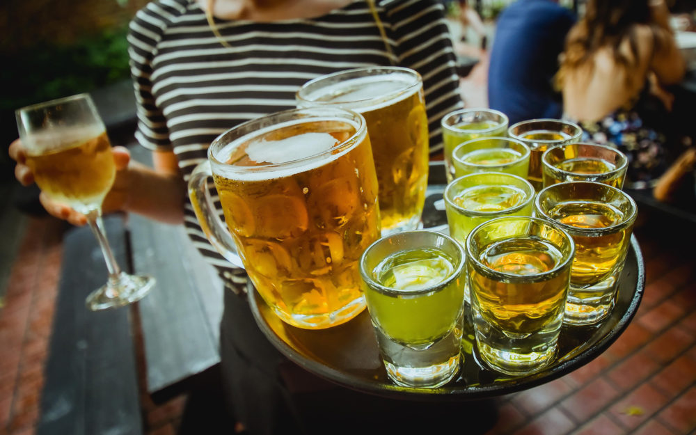Beer & Pickle Backs, The Olde English Pub, Albany, NY